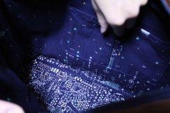 a universe inside a handbag